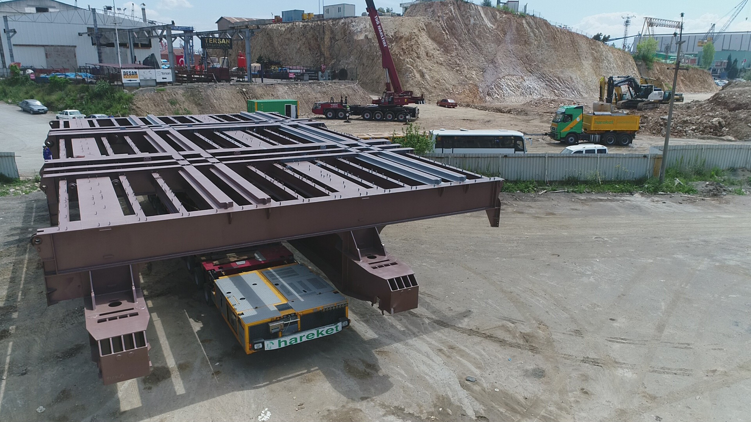 International Turkmenbashi Harbor Project- Shiplift Platform Manufacturing & Assembly