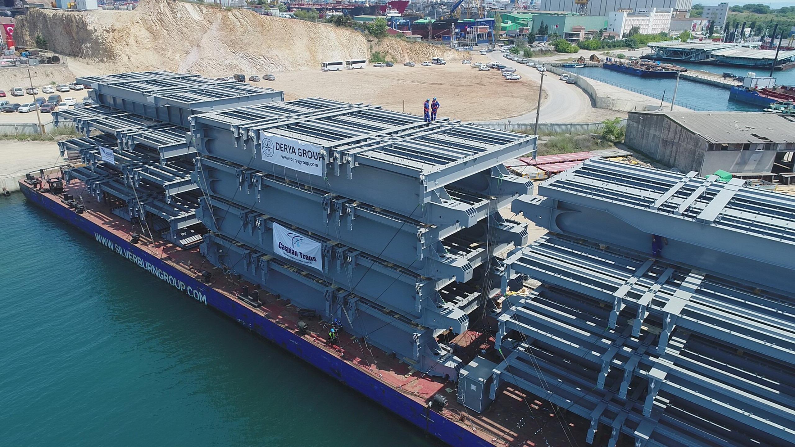 Uluslararası Türkmenbaşı Liman Projesi- Shiplift Platform İmalat & Montaj