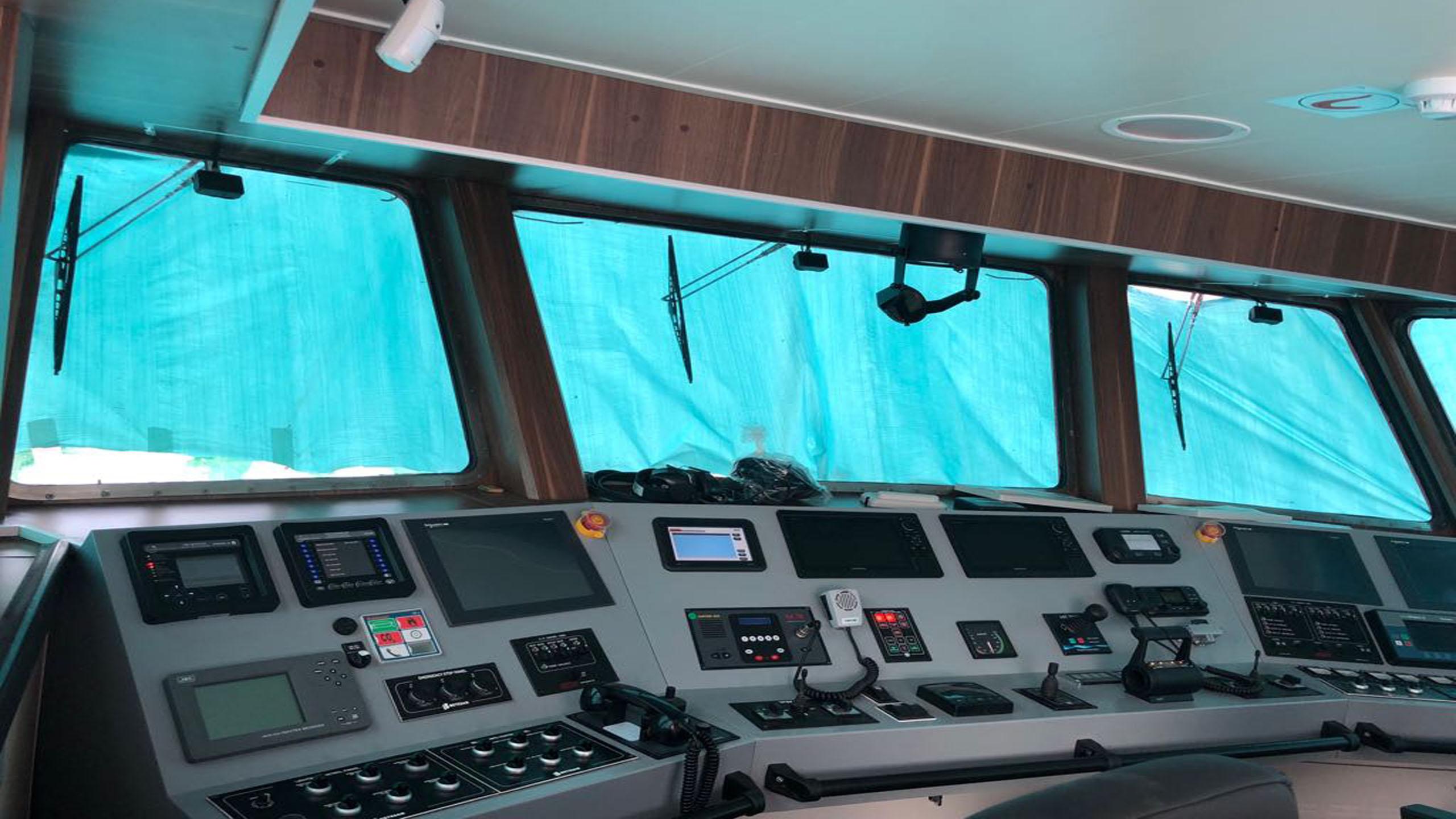 International Turkmenbashi Harbor Project – Fire Fighting Ship Project