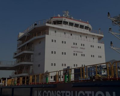m/v Captain Lychkin – SP239 Accommodation Block Construction Project
