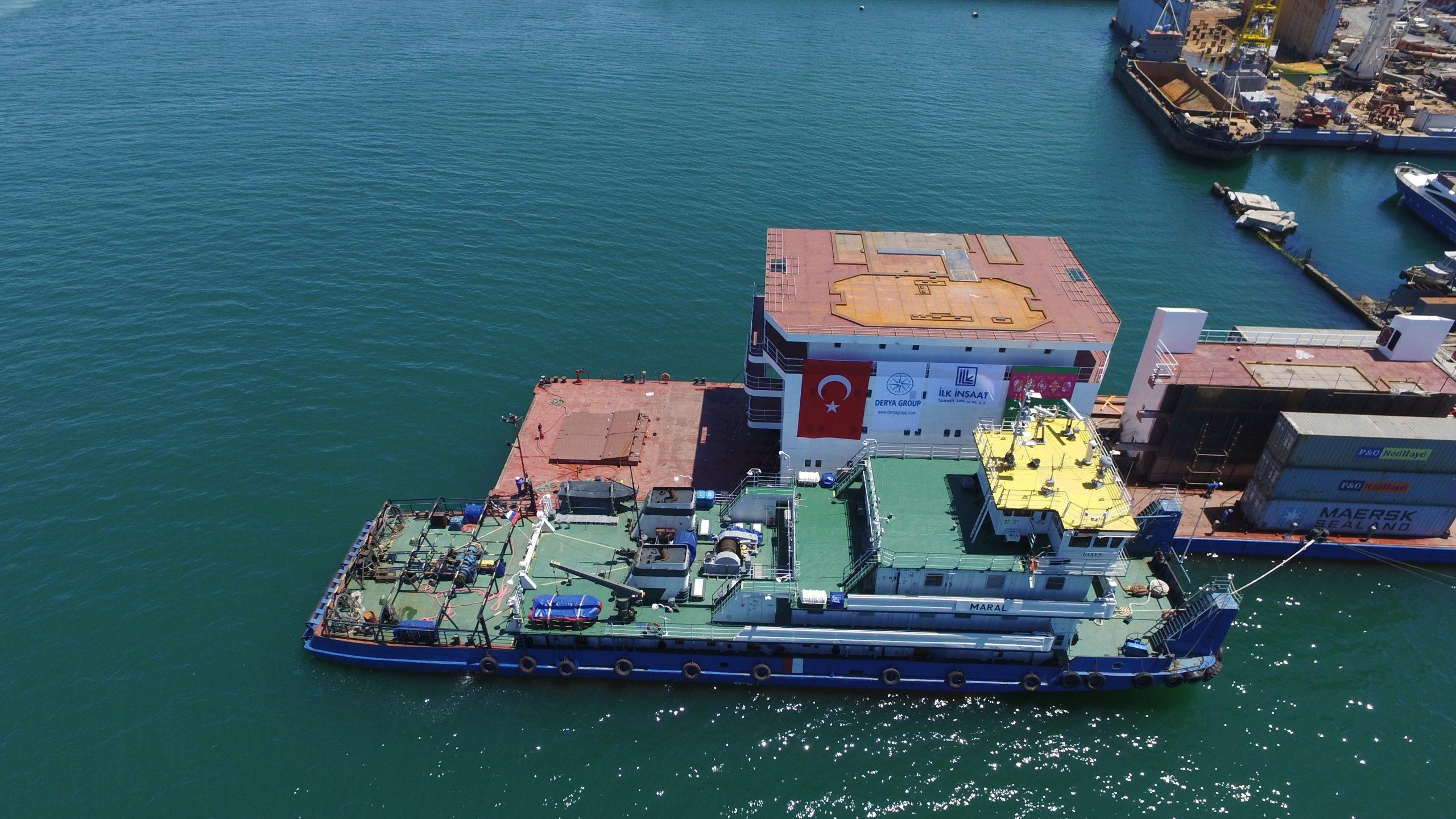 m/v Captain Lychkin – SP239 Accommodation Block Construction Project