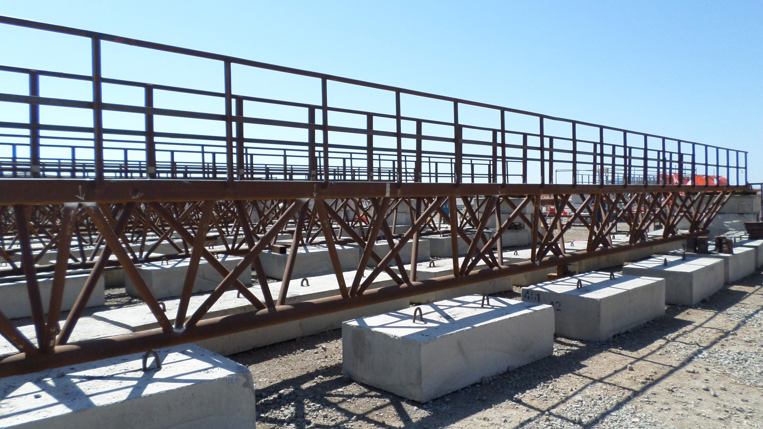 Marine Project – Catwalk and Dikewall Manufacturing, Blasting and Painting Works