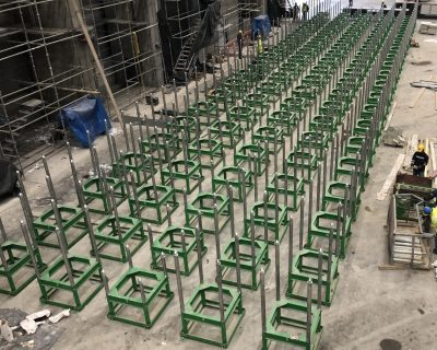 International Turkmenbashi Harbor Project – Manufacturing of Pinjig Keel Block System