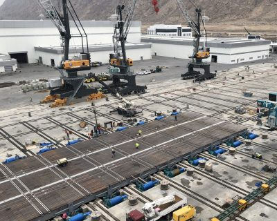 International Turkmenbashi Harbor Project – Shiplift Wood Covering , Rail Crossing Assembly and Welding Works