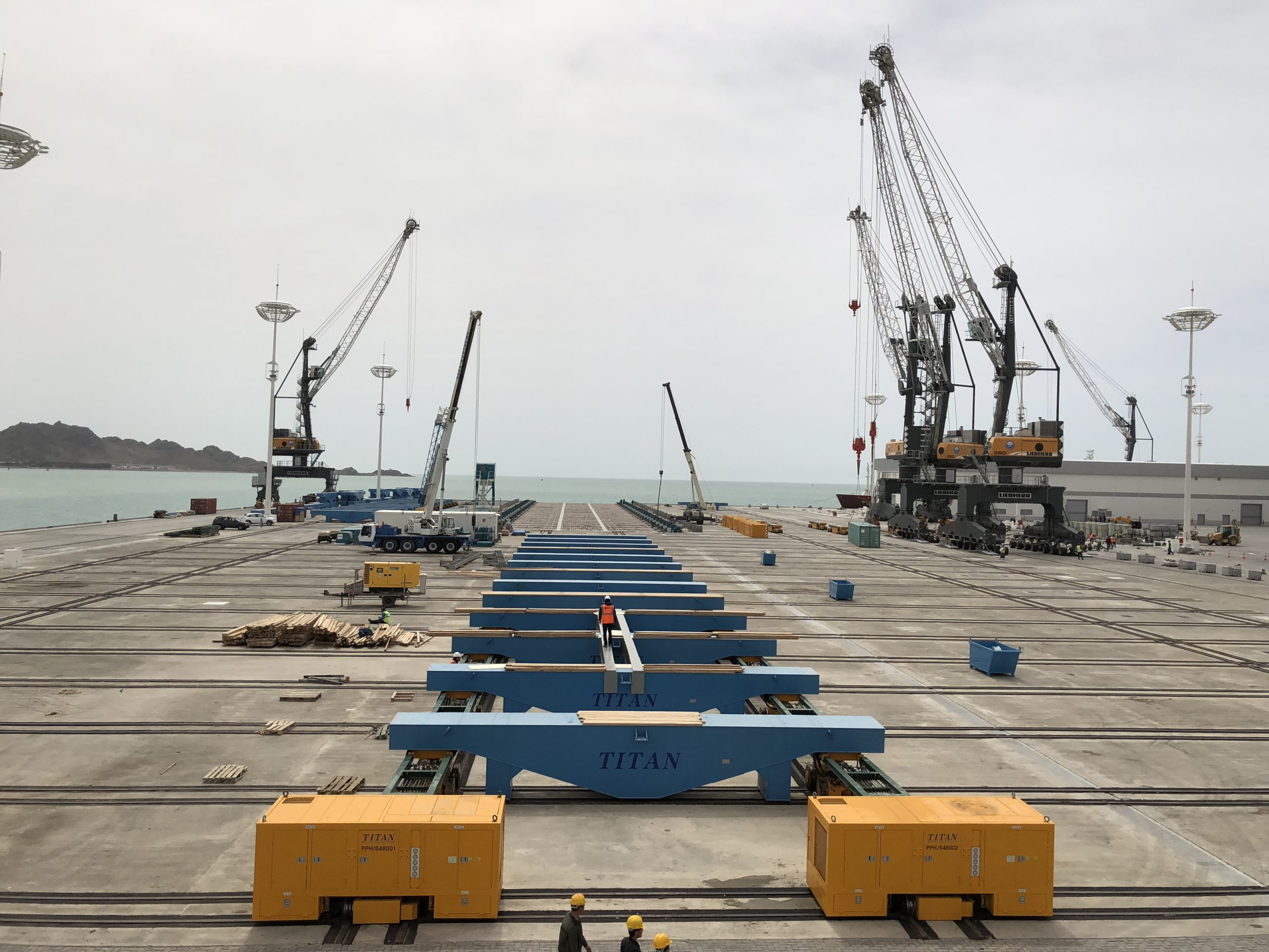 Uluslararası Türkmenbaşı Liman Projesi – Shiplift D60 Ahşap Kaplanması, Ray Crossing Montaj Ve Kaynak İşleri