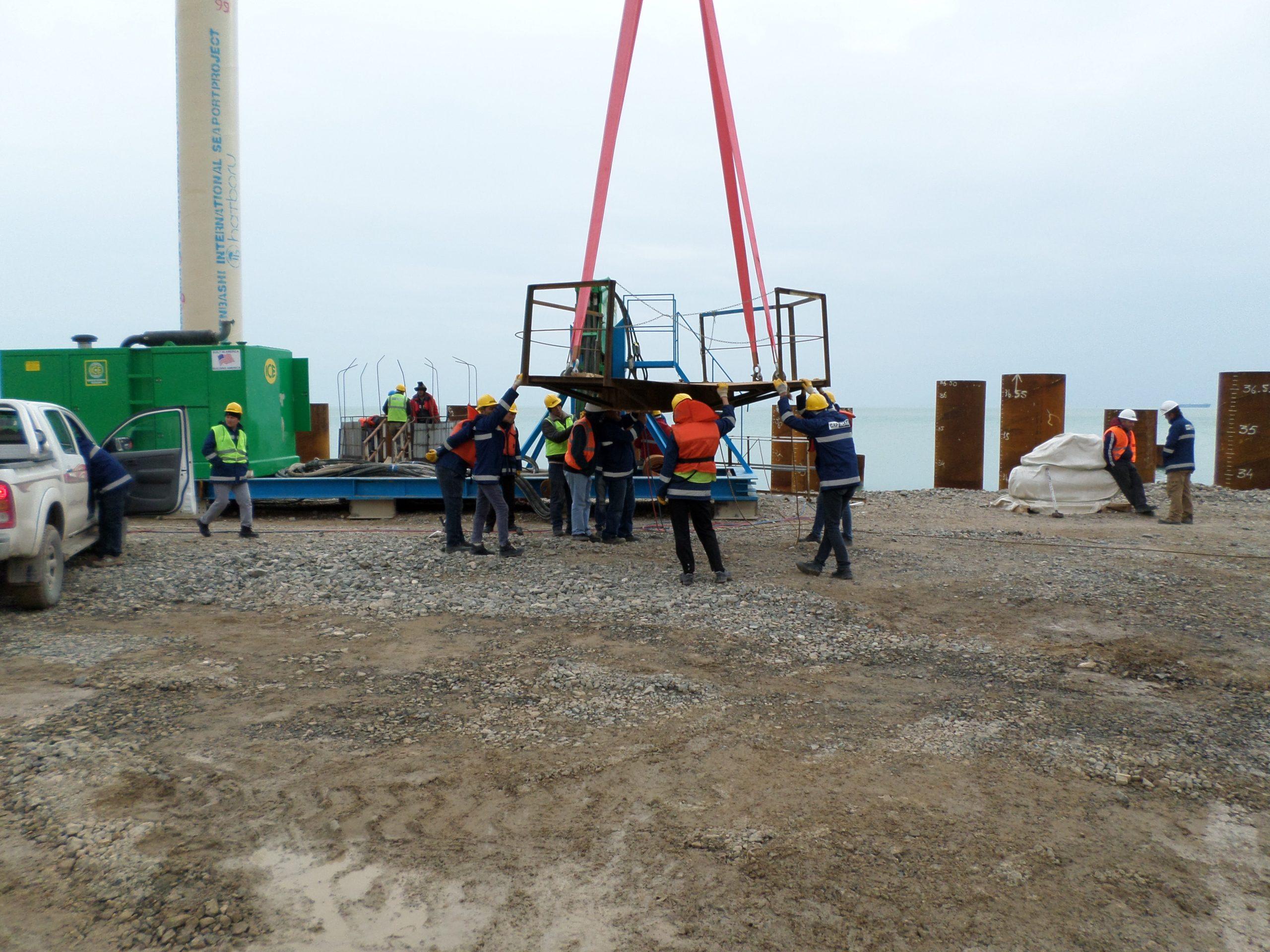 Uluslararası Türkmenbaşı Liman Projesi – Kazık Borusu Montaj, Kaynak ve Boya İşleri
