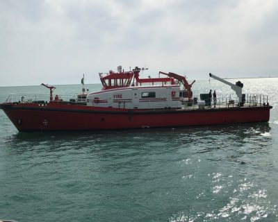 International Turkmenbashi Harbor Project – Fire Fighting Ship Project