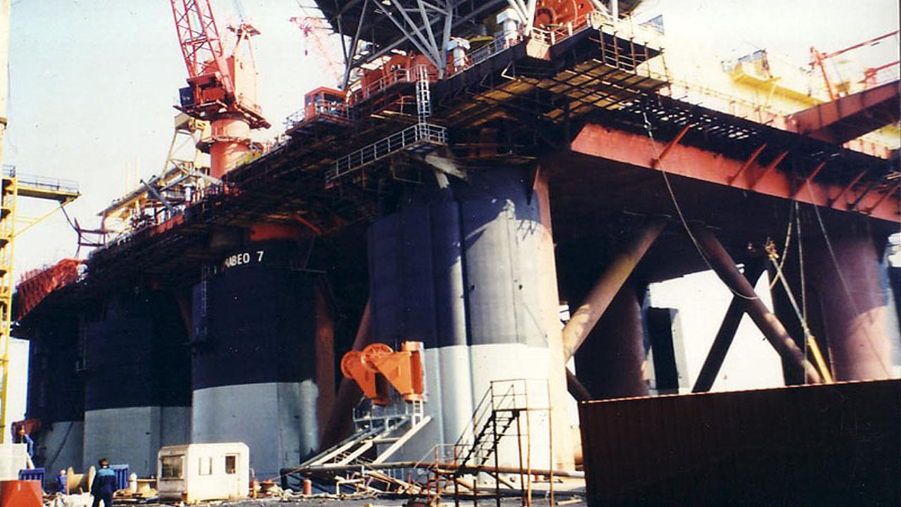 Offshore Project – Scarabeo 7 Platform