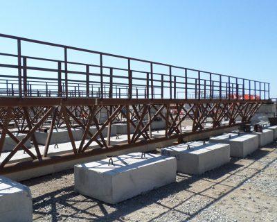 Deniz Yapıları Projesi – Catwalk ve Dikewall İmalatı, Kumlama ve Boyama İşleri