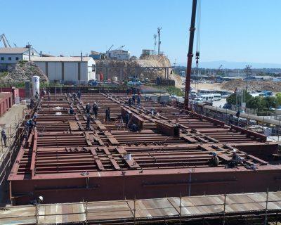International Turkmenbashi Harbor Project- Shiplift Platform Manufacturing & Assembly
