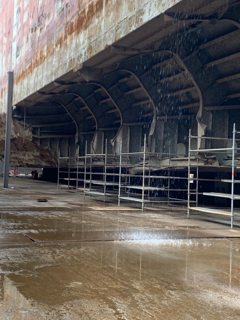 274 x 48m Tanker – Karina Sac Değişim ve Tamir İşi