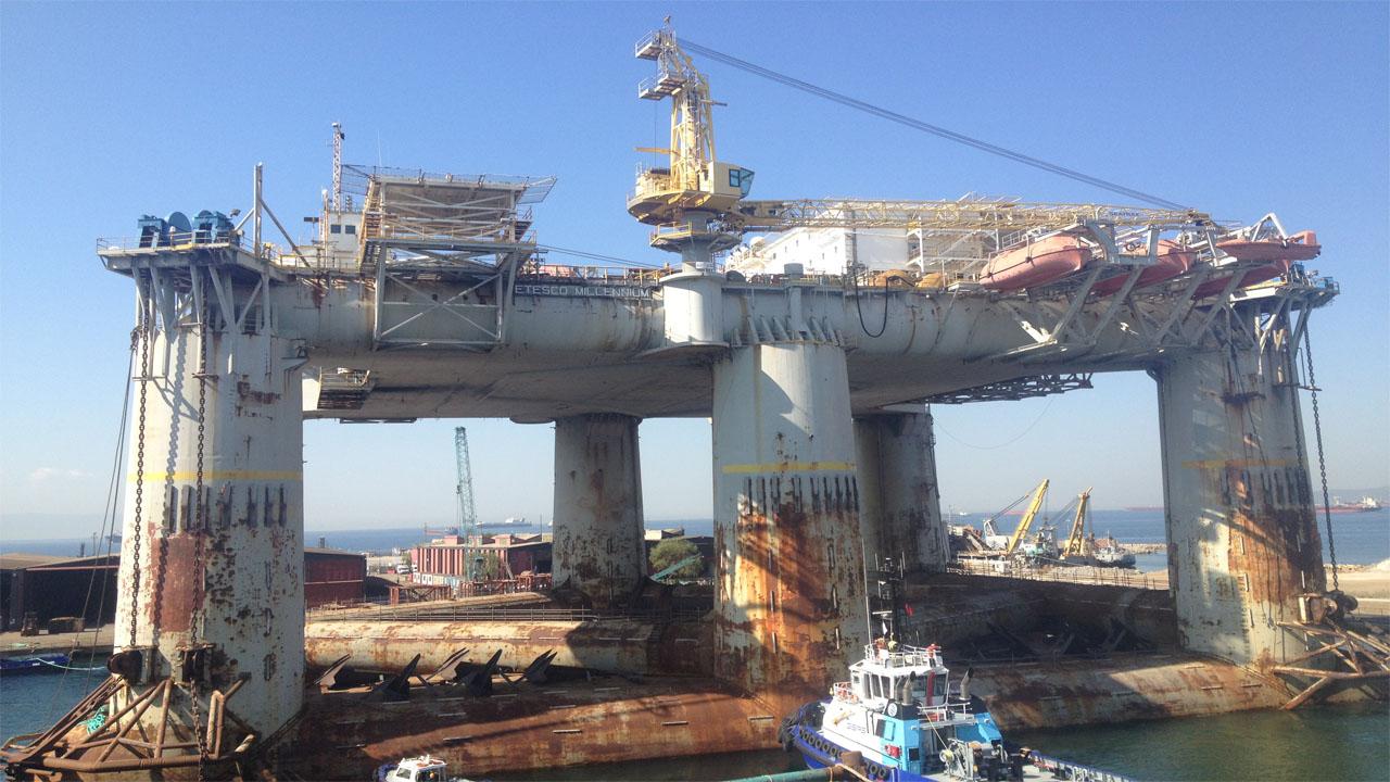 Offshore Project – Etesco Millenium Platform